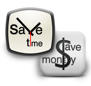 save time save money
